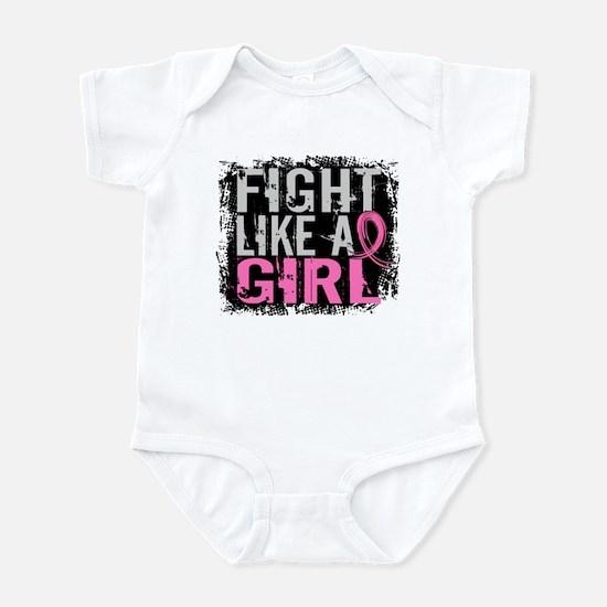 Licensed Fight Like a Girl 31.8 Infant Bodysuit