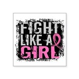 Fight like a girl Square