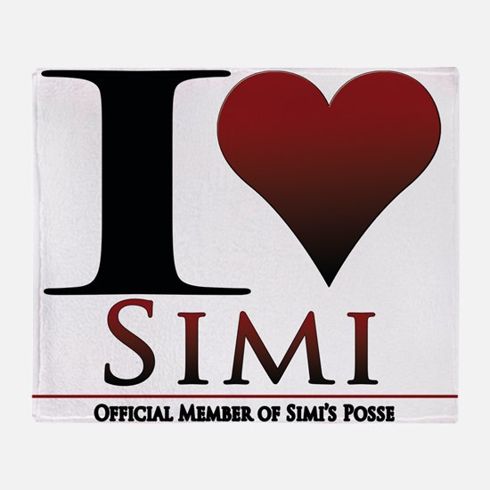 Love Simi Throw Blanket