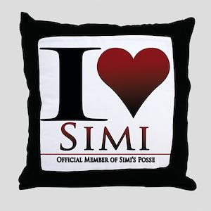 Love Simi Throw Pillow
