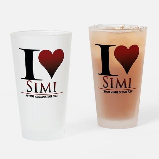 Love Simi Drinking Glass
