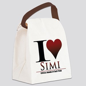 Love Simi Canvas Lunch Bag