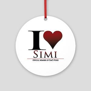 Love Simi Ornament (Round)