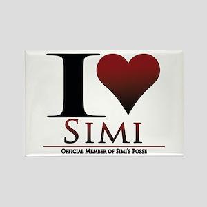 Love Simi Rectangle Magnet