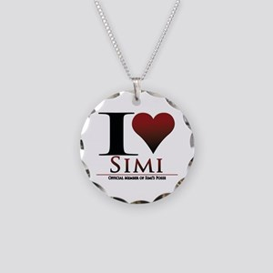 Love Simi Necklace Circle Charm