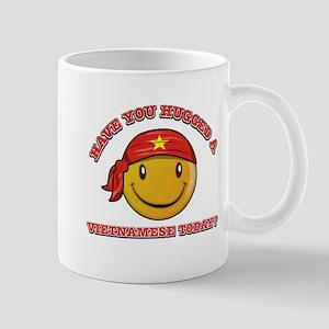 Cute Vietnamese Smiley Design Mug