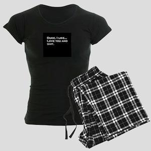 Bromance Women's Dark Pajamas