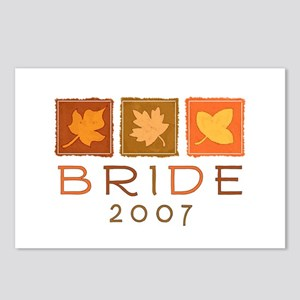 Fall Bride 2007 Postcards (Package of 8)