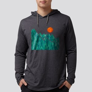 THE SUMMIT Mens Hooded Shirt