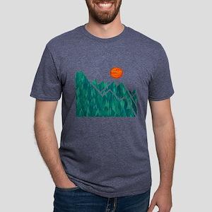 THE SUMMIT Mens Tri-blend T-Shirt