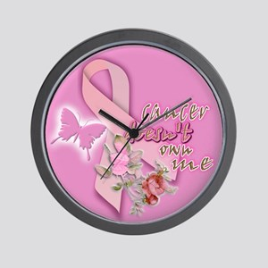 cancer DOESN'T own me: Wall Clock