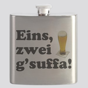Drink Up Oktoberfest Flask