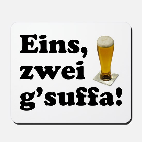Drink Up Oktoberfest Mousepad