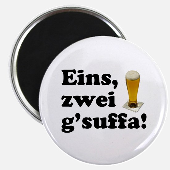Drink Up Oktoberfest Magnet