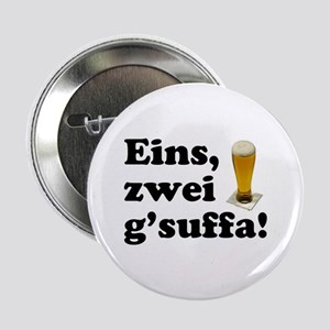 "Drink Up Oktoberfest 2.25"" Button"