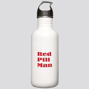 Red Pill Man Stainless Water Bottle 1.0L