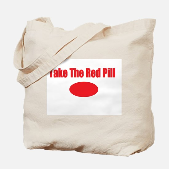 Take The Red Pill Tote Bag