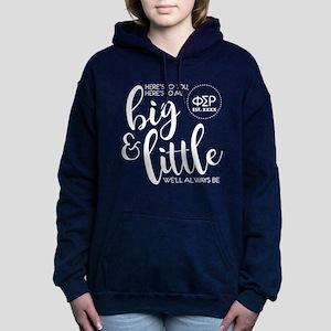 Phi Sigma Rho Big Little Women's Hooded Sweatshirt