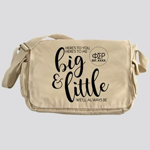 Phi Sigma Rho Big Little Messenger Bag