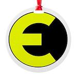 Elite Logo Round Ornament
