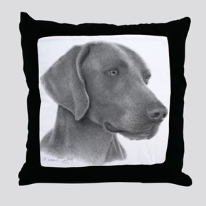 Weimeraner Throw Pillow