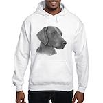 Weimeraner Hooded Sweatshirt