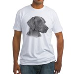 Weimeraner Fitted T-Shirt