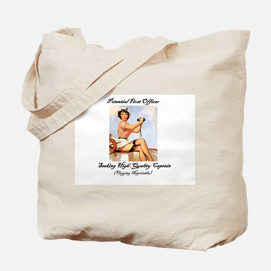 Potential First Officer Tote Bag