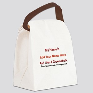 Groomaholic Canvas Lunch Bag