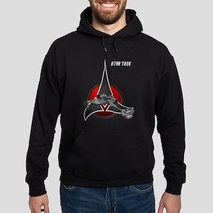 Klingon Empire ship 2 Hoodie (dark)