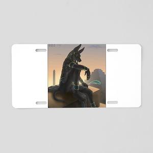 Best Seller Anubis Aluminum License Plate