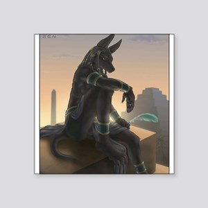 "Best Seller Anubis Square Sticker 3"" x 3"""