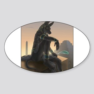 Best Seller Anubis Sticker (Oval)