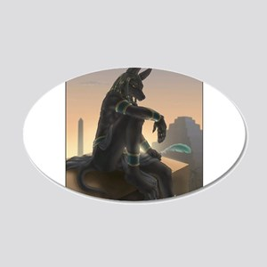 Best Seller Anubis 20x12 Oval Wall Decal