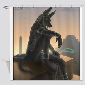 Best Seller Anubis Shower Curtain