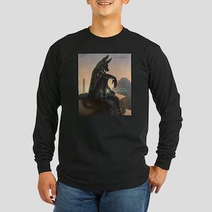 Best Seller Anubis Long Sleeve Dark T-Shirt
