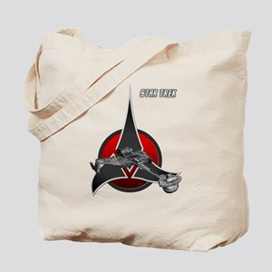 Klingon Empire ship 2 Tote Bag