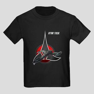 Klingon Empire Raptor Kids Dark T-Shirt
