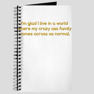 Crazy Ass Family Journal