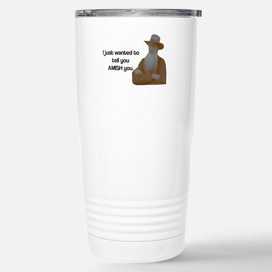 AMISH You Stainless Steel Travel Mug