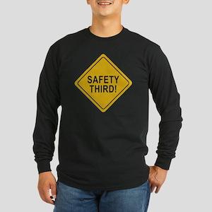 Safety_Third Long Sleeve T-Shirt