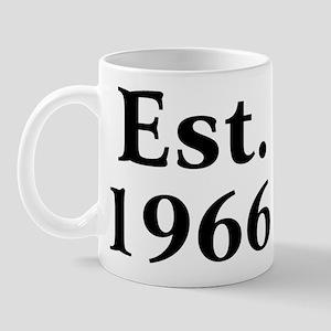 Est. 1966 Mug