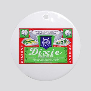 Louisiana Beer Label 4 Ornament (Round)