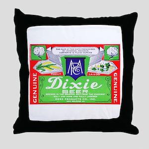 Louisiana Beer Label 4 Throw Pillow