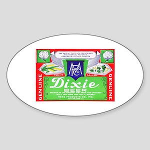 Louisiana Beer Label 4 Sticker (Oval)