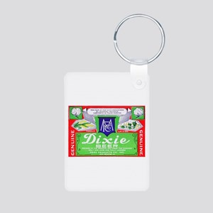 Louisiana Beer Label 4 Aluminum Photo Keychain