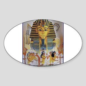 Best Seller Egyptian Sticker (Oval)