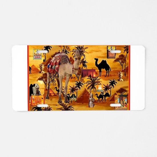 Best Seller Camel Aluminum License Plate
