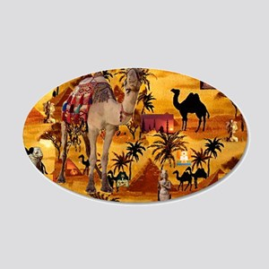 Best Seller Camel 20x12 Oval Wall Decal