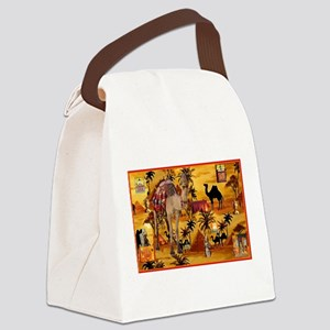 Best Seller Camel Canvas Lunch Bag